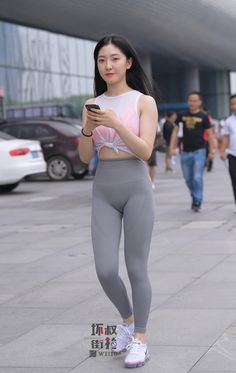 Cute Asian Girls, Sporty Outfits, Sexy Outfits, Pinup Girl Clothing, Asian Model Girl, Girls In Leggings, Beautiful Asian Women, Little Girl Dresses, Sexy Poses