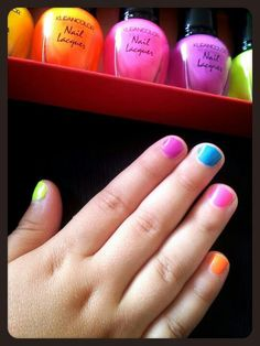 #Kleancolor #Neons tested on my 3-year old daughter