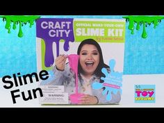 Diy slime kit make your own slime kit in 5 minutes diy slime lets make slime with karina garcia craft city slime kit toy review pstoyreviews youtube ccuart Gallery