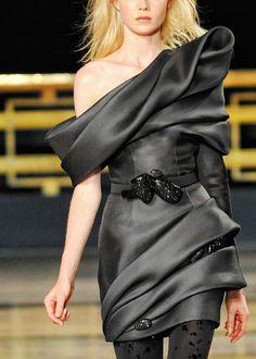 Look Trendy in this Black Dress