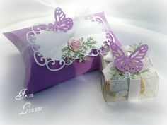 Pillow Box and Special Box Of Candies Made 60 of These Pillow Boxs For A Friends Events She Attended