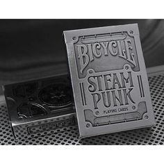 Bicycle Silver Steampunk Deck by USPCC - Trick