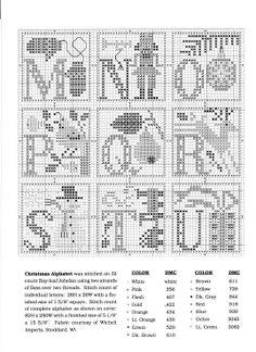 Christmas Alphabet (Pg 3 of 4)