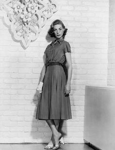 Lauren Bacall in a fabulous dress