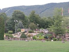 Hobo Hills Adventure Golf in Lincoln New Hampshire - a great family friendly attraction!