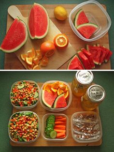 Prep for healthy eating success! A little prep goes a long way, especially on busy days!