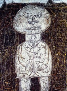 The Villager with Close-Cropped Hair-Dubuffet photo TheVillagerwithClose-CroppedHair-Du. Jean Dubuffet, Bad Art, Collages, Art Brut, Outsider Art, Abstract Sculpture, Figurative Art, Buddhism, Les Oeuvres