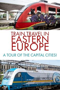 Want to travel by train in Eastern Europe? It's easy and fun, and the cities are full of sights, things todo, and great places to eat and shop. Find out more! #itinerary