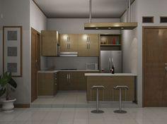desain dapur minimalis 3x3-Desain Dapur Minimalis Ukuran Kecil