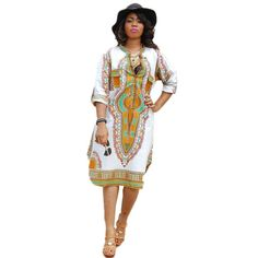 a7ff8e388ff Summer Women Traditional African Print Party Dress- African Party Dresses