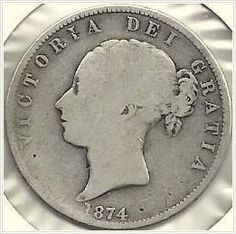 1874 UK Great Britain Half Crown Silver Coin, Silver 925 ! Listing in the Other,Europe (Non & Pre €),Coins,Coins & Banknotes Category on eBid United States