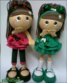 Patrones Fofuchas - Chicas