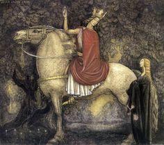Scandinavian folklore painter John Bauer