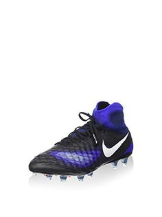 best service 6b9e3 67acb Men s Magista Obra FG Soccer Cleat (Black, Blue) -- Continue to the
