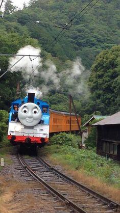 大井川鐵道でリアル「きかんしゃトーマス」
