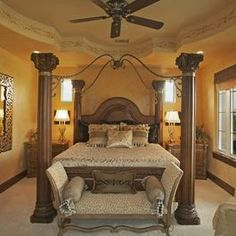 Bedroom Photos Tuscan.  Love the feel of the room, perhaps more colour in the bedding but overall its great.