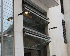 A4000 Four-Leaf Foldaway Counterweight Balanced Door & A5000 Vertical Lift Counterweight Balanced   Countereweight Doors ...
