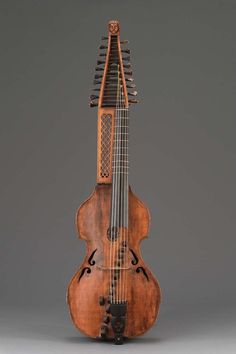 Baryton (similar to a Viol), Germany, century, The Museum of Fine Arts, Boston Violin Family, Early Music, Musica Popular, Chant, Sound Of Music, Music Music, Museum Of Fine Arts, Music Stuff, Renaissance