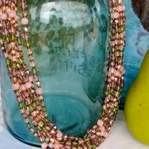 Shimmer in the Garden Necklace