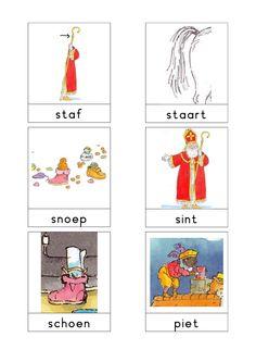 Woordkaarten 'Sint' 1