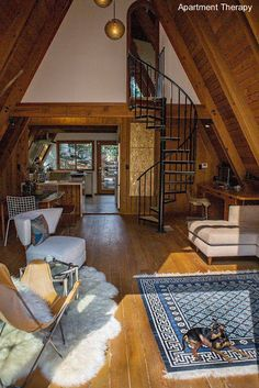 Arquitectura de Casas: Casas alpinas modernas A-frame houses.