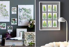 TREND. Haal de natuur in huis - Botanische prints
