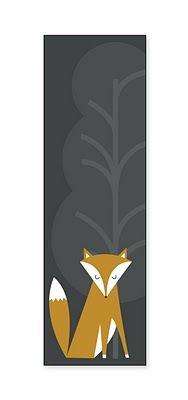 @Whitney Harris Free Printable Fox Bookmark! <3