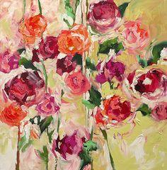 Linda Monfort floral painting