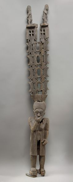 Standing Figure (Aloalo) with Superstructure [Madagascar; Malagasy (Mahafaly) people] (1998.317.1) | Heilbrunn Timeline of Art History | The Metropolitan Museum of Art