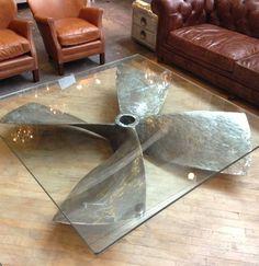Propeller Glass Table - Imgur