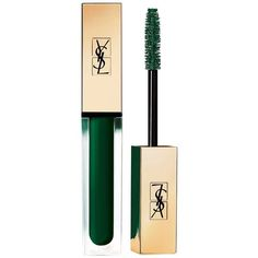 Yves Saint Laurent Mascara Vinyl Couture/0.21 oz. ($29) ❤ liked on Polyvore featuring beauty products, makeup, eye makeup, mascara, apparel & accessories, yves saint laurent and yves saint laurent mascara