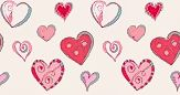 Pattern corações