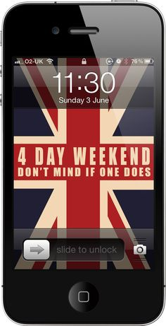 Jubilee iPhone wallpaper from Bambu. Designed by Sheree Evans.