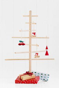 Christmas Tree Alternatives For Small Homes. This is via @kikki