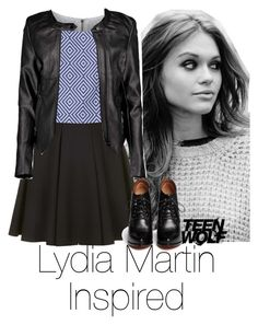 """""""Lydia Martin Inspired #2"""" by emily1d567 ❤ liked on Polyvore featuring Givenchy, Topshop, Alice + Olivia, Boohoo, MTV, TeenWolf, LydiaMartin and HollandRoden"""
