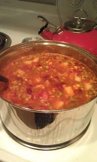 Welcome to the Henhouse: Turkey Vegetable Soup