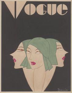 Bonnie Cashin, Vogue cover, 1927