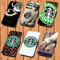 Starbucks Coffee For Faux Leather Flip iPhone And Samsung Galaxy Case Cover #NONGCHAO