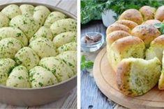 Домашний хлеб с чесноком