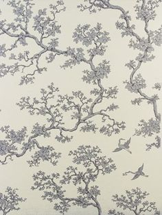 Florence Broadhurst Wallpaper | The Cranes FBW B075