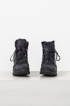 Boris Bidjan Saberi boot2-f2427m-r object dyed molded ankle boot Size US 7 / EU 40 - 1