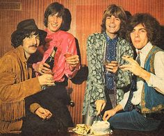 In 1967, radio station Radio Luxembourg published a magazine called (in typical 60's style) Fabulous 208 (208m being the medium wave radio frequency for the station). For their birthday issue, they had Pink Floyd as the cover stars, celebrating the event with champagne and cake...