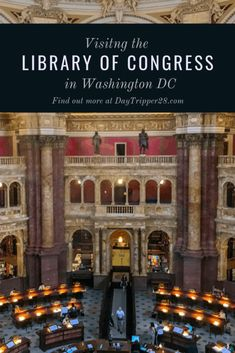 Visiting the Largest Library in the Wolrd was never on my list, but once inside, I'm not sure why it wasn't. Here are some tips to make your visit to the Library Of Congress in Washingon DC memorobale for you. Great American Road Trip, Us Capitol, Washington Dc Travel, Local Library, Capitol Building, Road Trip Hacks, Adventure Activities, Library Of Congress, Travel Usa