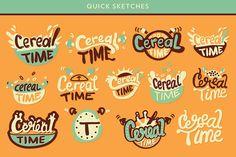 Cereal Time Logo Design on Behance