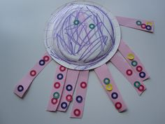 Octopus Craft and Fine Motor Skills Practice! - Pinned by @PediaStaff – Please visit http://ht.ly/63sNt for all (hundreds of) our pediatric therapy pins