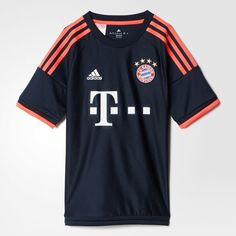 Adidas FC Bayern Munich Youth Jersey-NTNAVY (L)