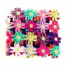 Crochet Flower Blanket PDF Pattern  English by annemariesbreiblog, €4.00