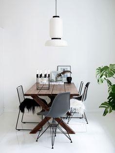 Bloglovin' | 7 Stylish Dining Rooms