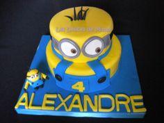 Gâteau Minion 3