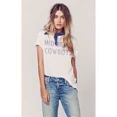 Zoe Karssen Midnight Cowboys Tee ($108) ❤ liked on Polyvore featuring tops, t-shirts, pink t shirt, boyfriend t shirt, collared t shirt, boyfriend tee and vintage style t shirts